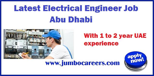 Electrical Engineer Job Abu Dhabi