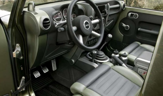 2017 Jeep Gladiator Interior