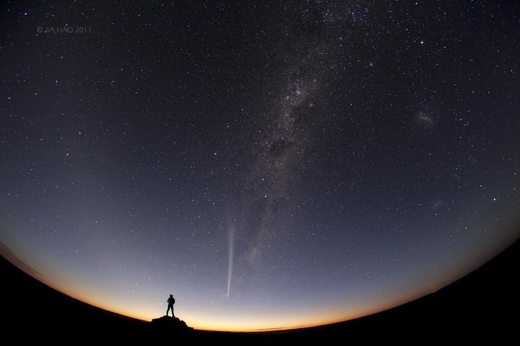 نتائج مسابقة إختيار أفضل (10) صور للسماء ليلاً لعام 2012 !