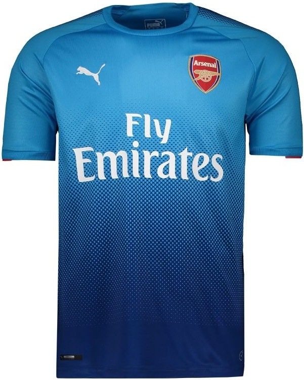 7e5770d8fe4c7 Puma lança a nova camisa reserva do Arsenal - Show de Camisas
