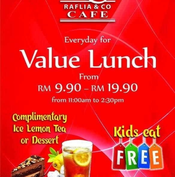 Makan di Raflia & Co Cafe Di Bandar Baru Bangi