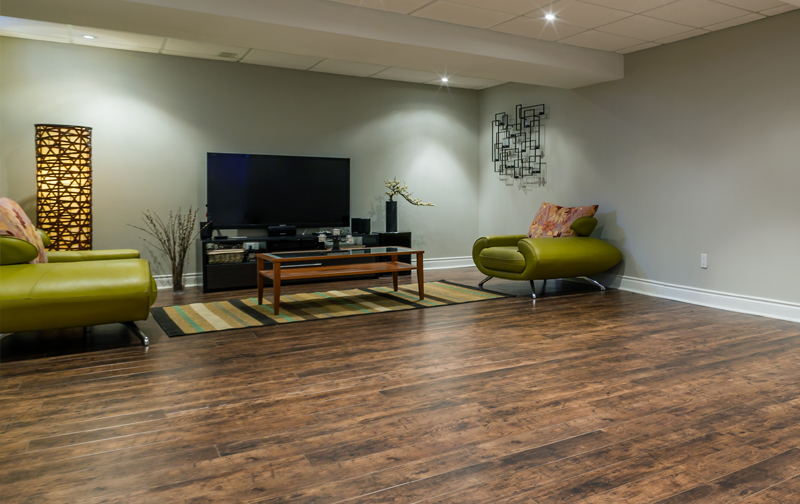 Luxury vinyl is the perfect basement flooring choice for homeowners in 2019