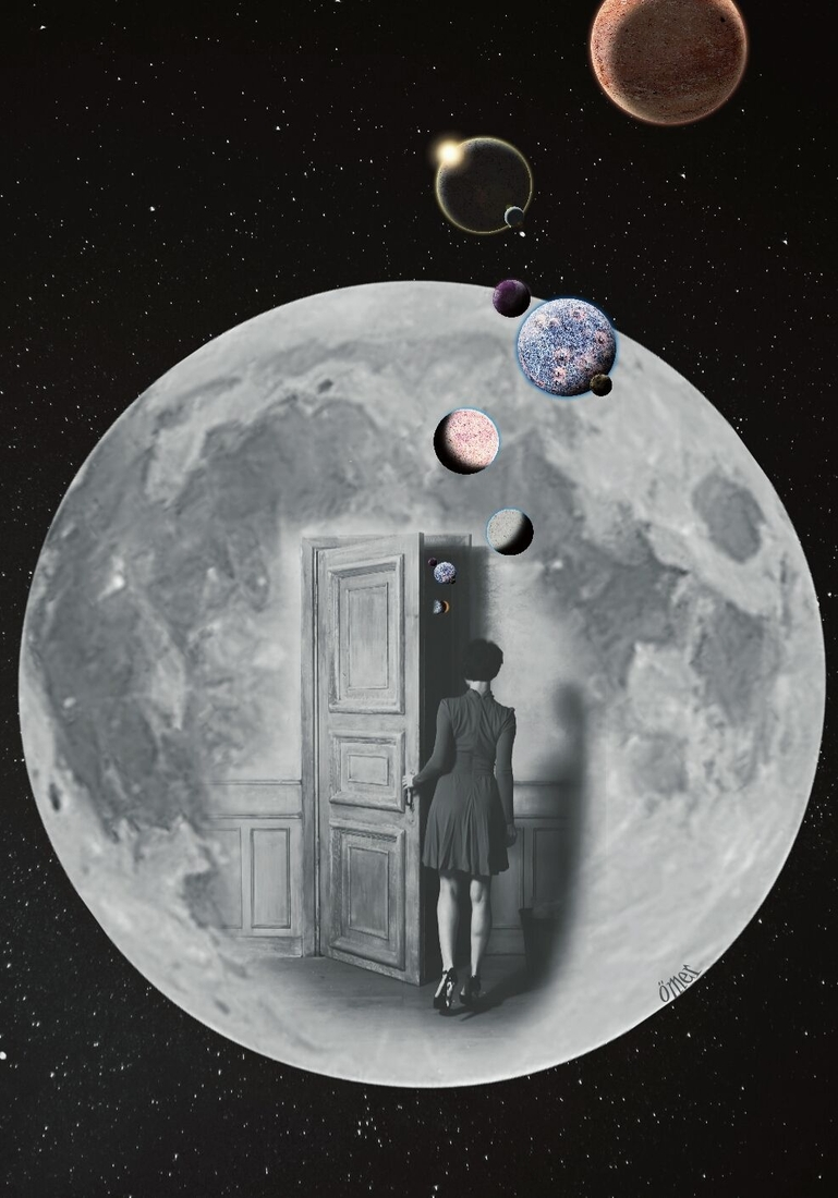 13-A-Room-on-the-Moon-Ömer-Taşdemir-Different-Point-of-View-with-Surreal-Photo-Manipulation-www-designstack-co