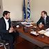 Συνάντηση Τ. Μπαρτζώκα με πρόεδρο Οικονομικού Επιμελητηρίου Ελλάδος Κ. Κόλλια