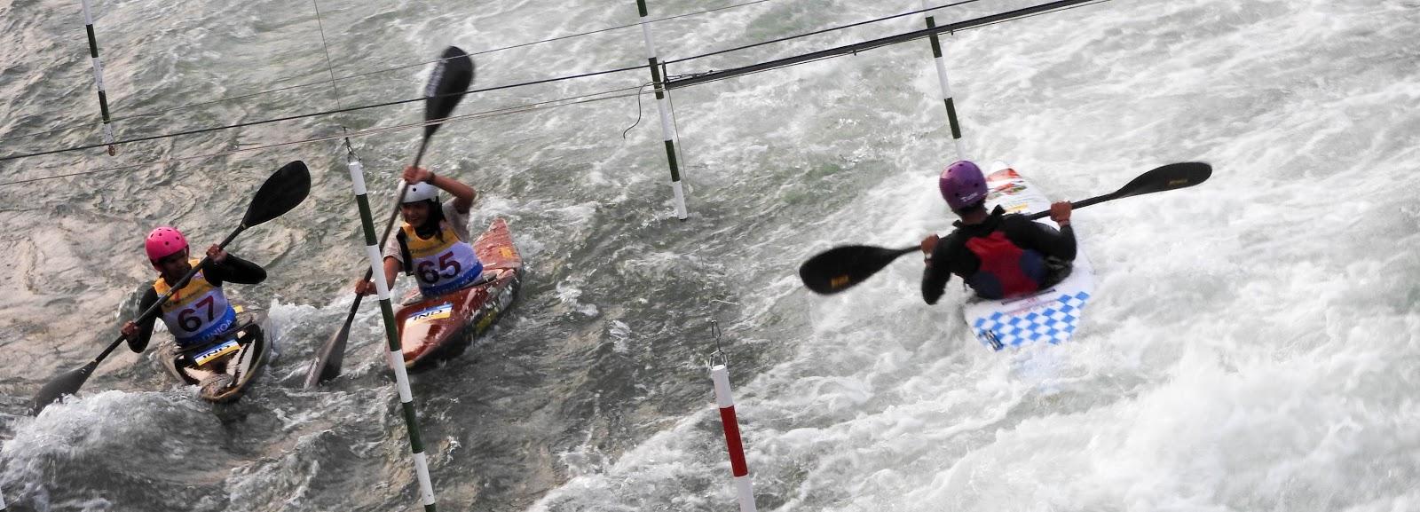Mit viel Mut - Erstmals Inder bei Kanu-Slalom-Welt-Cup am Eiskanal