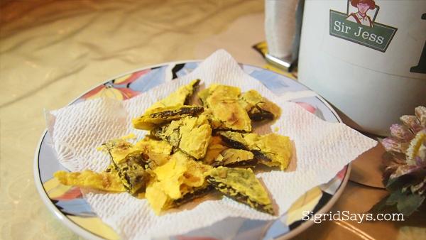 turmeric piaya, healthy food options Bacolod