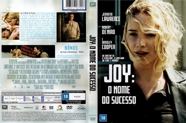 Capa DVD Joy O Nome Do Sucesso