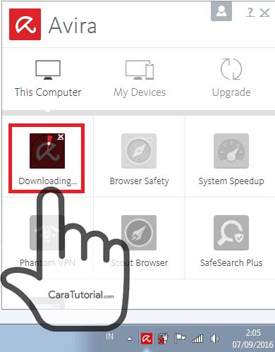 downloading avira free antivirus