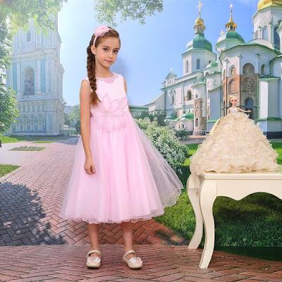 baju pesta anak princess mewah