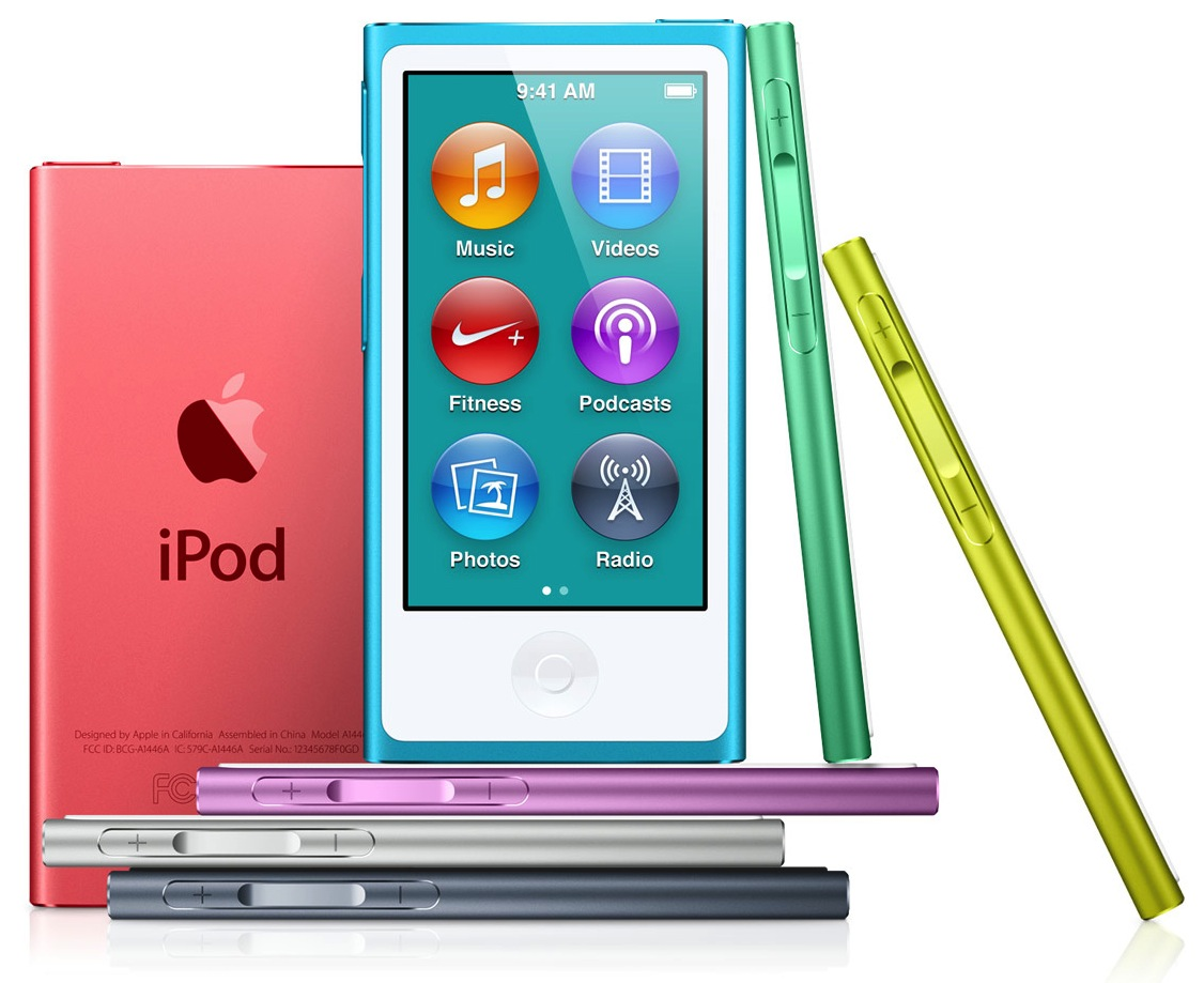 iPod Touch and iPod Nano - 4 inch screen, 40-hour battery ...