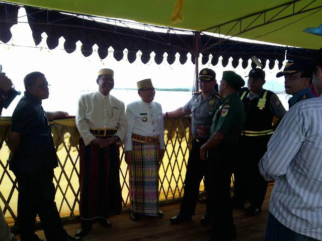 Dipisah dari Pemangku Adat, Perahu Muspida Palopo Hanya Dihias Seadanya di Acara Maccera Tasik