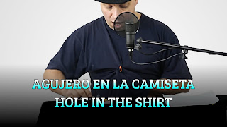 Aguero en la camiseta, HEAT ABSORPTION, Hole in the shirt