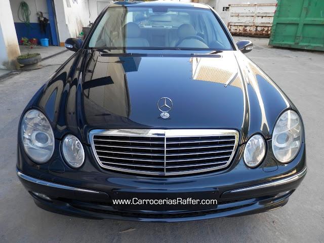 Mercedes 240 E pintado entero HD Alta Definición