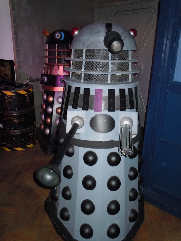 Dr Who and the Daleks movie props