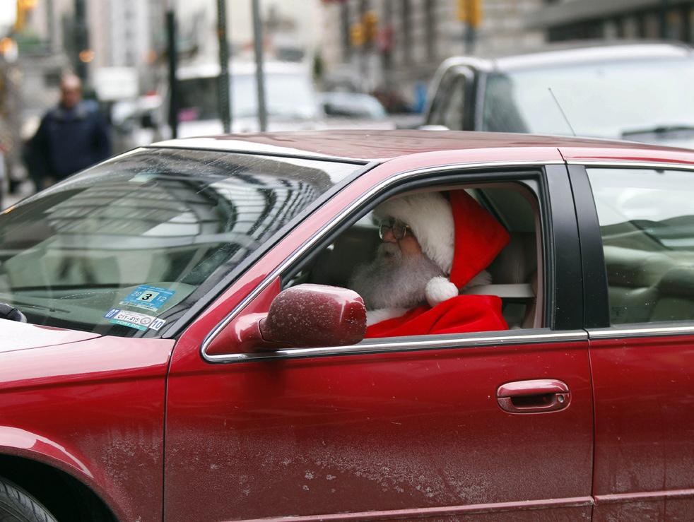 Prince Car Show Car Santa Claus 2012