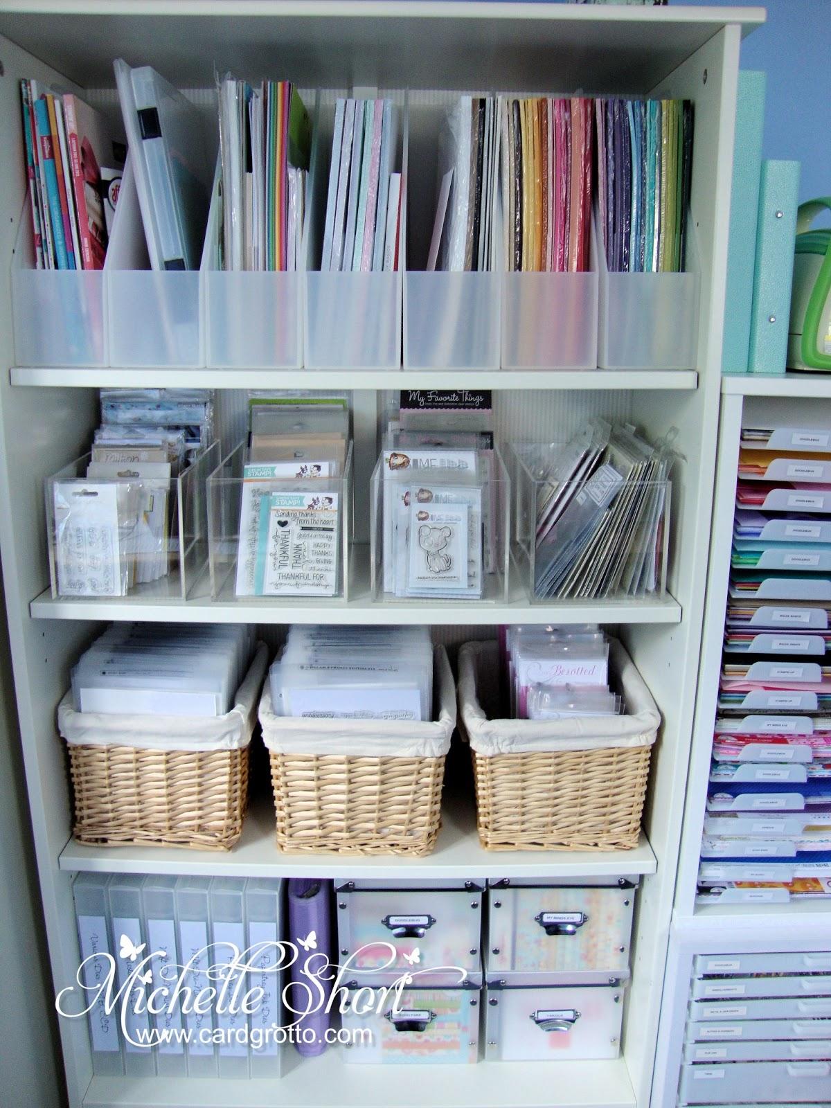 Storage Sunday   Cardstock U0026 Paper