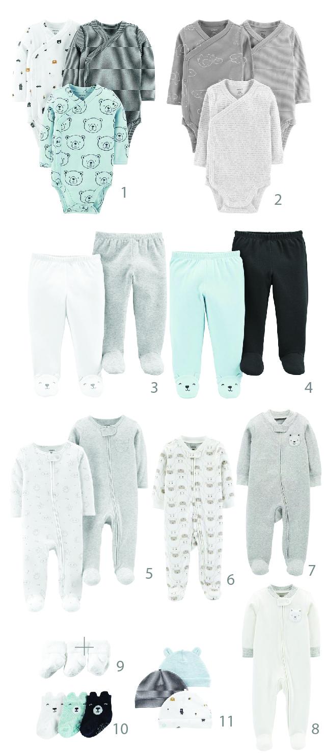 בגדי גוף לתינוק יוניסקס