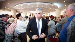 Yair Lapid estrela em ascensão na política israelense