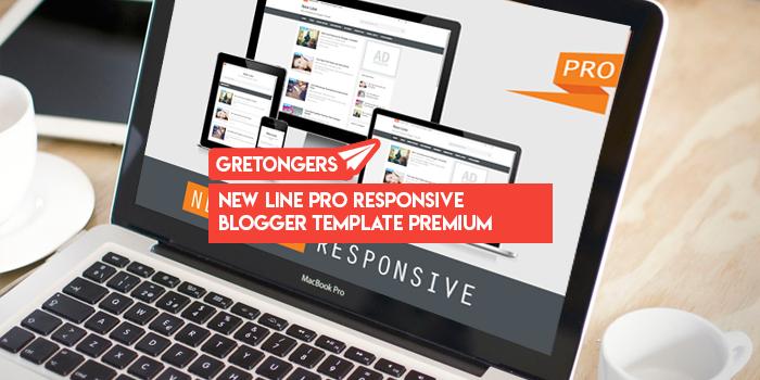 New Line Pro Responsive Blogger Template Premium