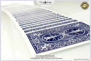 Jual kartu sulap Deck bicycle card standart (1)