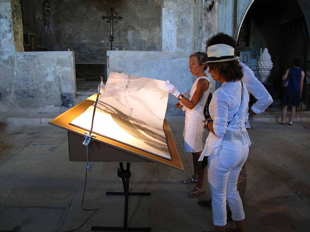 Exposition à la Cathédrale Haute de Vaison-la-Romaine