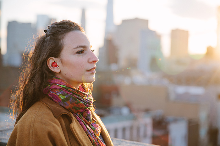 In-Ear Device That Translates Foreign Languages In Real Time - The gadget comprises two earpieces that easily fit into your ears