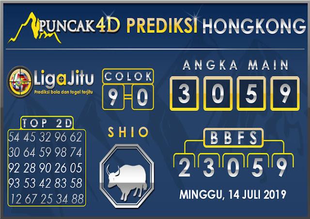 PREDIKSI TOGEL HONGKONG PUNCAK4D 14 JULI 2019