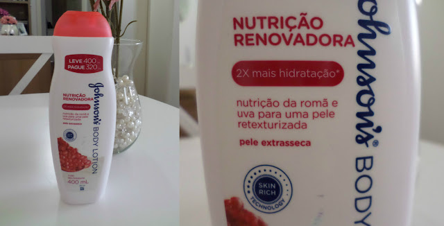 Resenha do Hidratante Johnson´s Romã e Uva