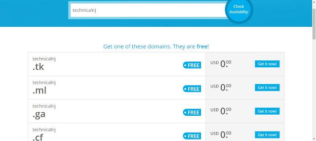 how to create domain