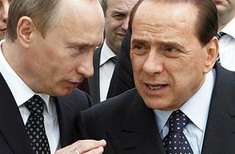 Berusconi kann selbst seinen Freund Putin schlecht verstehen