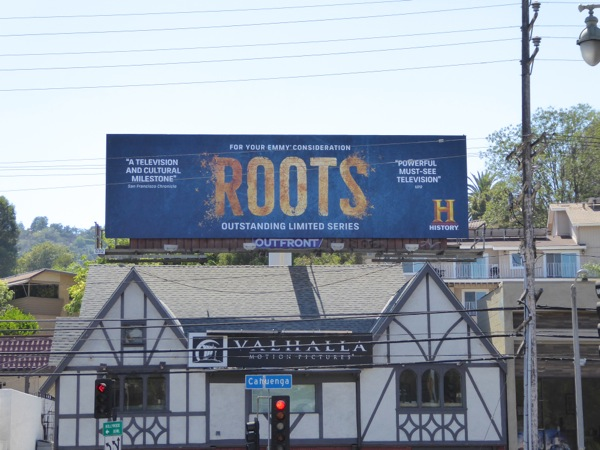 Roots 2016 remake Emmy nomination billboard