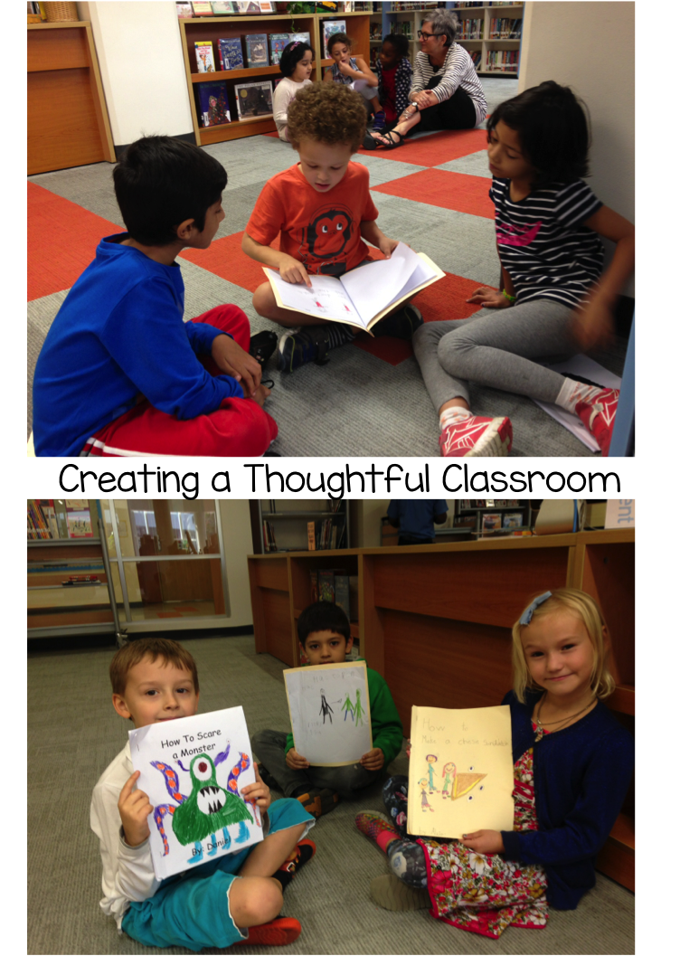 Editing & Publishing How-to Books in 1st grade, Creating a Thoughtful Classroom