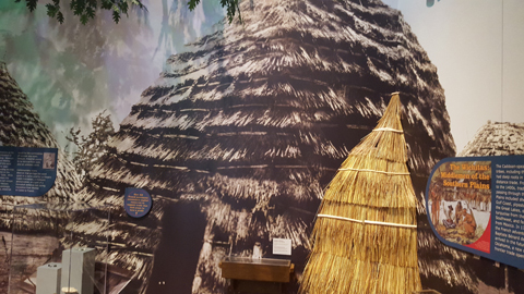 Native American Hut - Oklahoma History Center