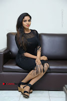 Telugu Actress Karunya Chowdary Latest Stills in Black Short Dress at Edo Prema Lokam Audio Launch .COM 0195.JPG