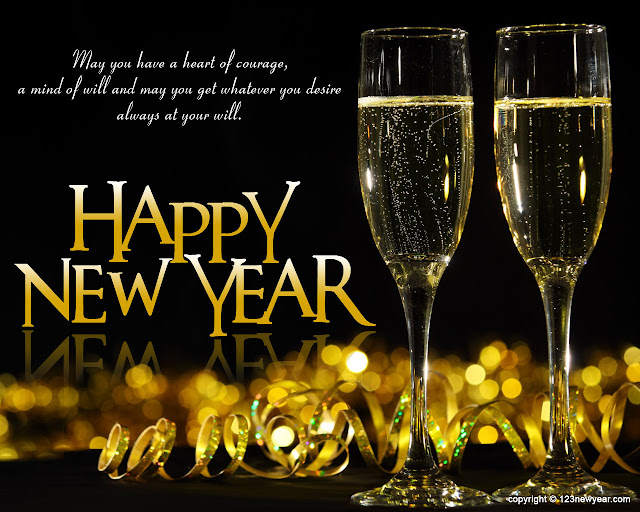 happy new year wishes wallpaper 2016