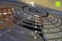 Kopf: Andrew James großer 45cm Bodenventilator aus Metall – 100 Watt, kraftvoller Luftfluss, 3 Geschwindigkeitseinstellungen und verstellbarer Neigung – 2 Jahre Garantie