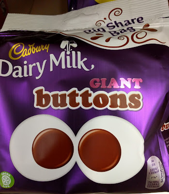 Cadbury Giant Buttons big share bag