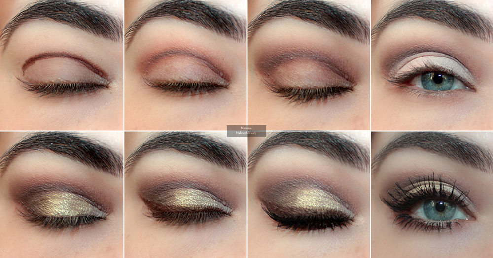 Marzena Makeupbeauty Prosty Makijaż W Odcieniach Brązu I Złota