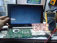 Service Laptop Asus X201 X202e Mati Total Dengan Amper Standbye 0.024A