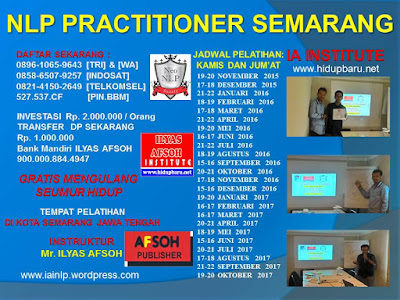 NLP Semarang Training 2016 2017