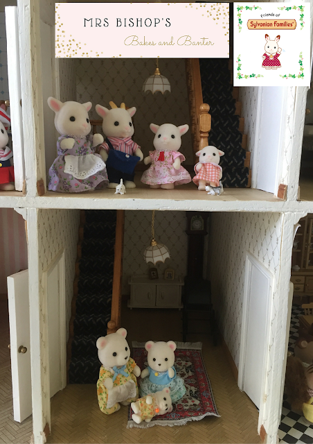 Sylvanian Families in Mrs Bishop's Doll's house