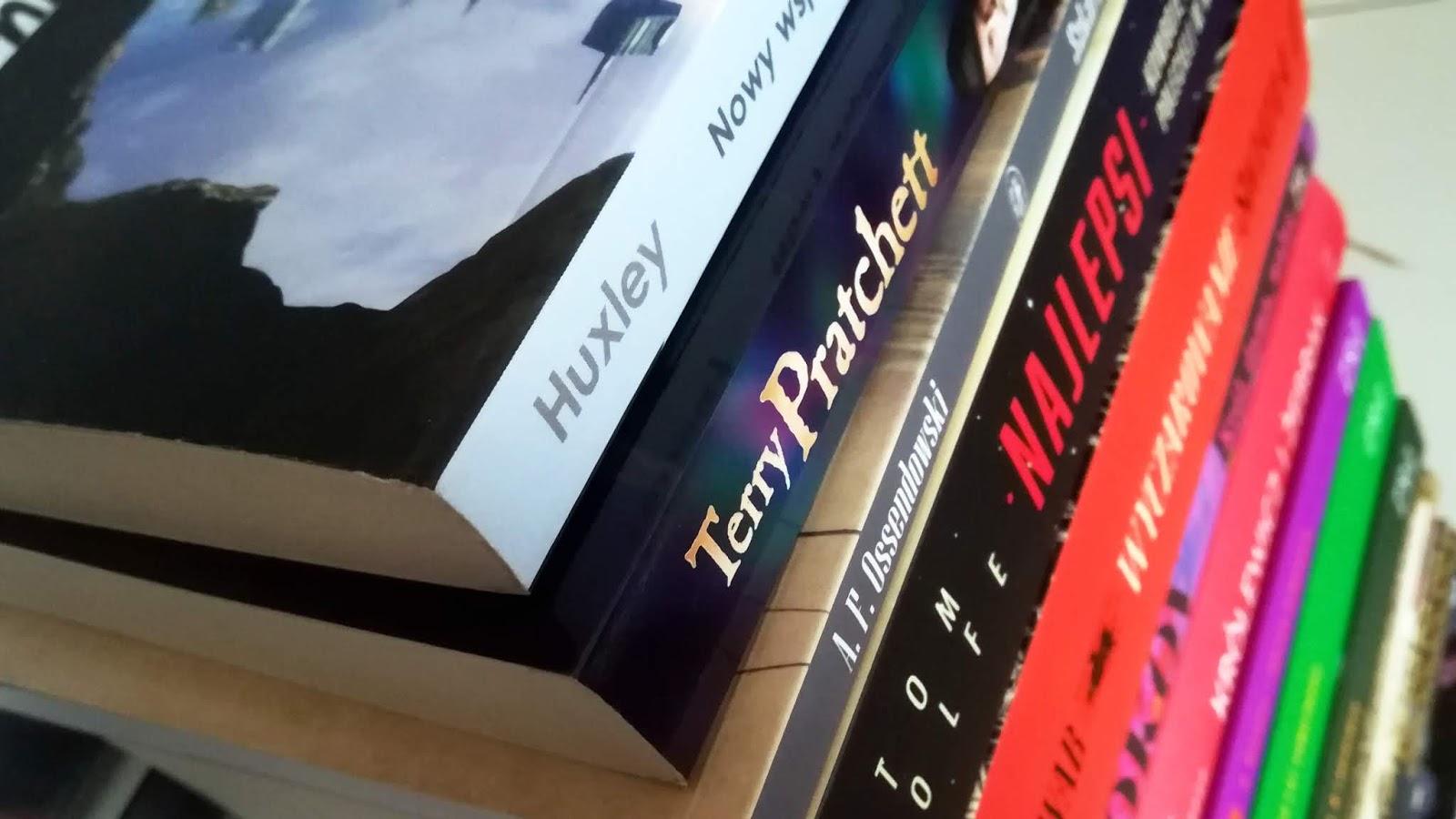 Spóźniony stosik książkowy za czerwiec || BOOK HAUL