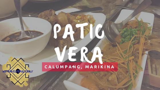 Patio Vera in Marikina - WTF Review