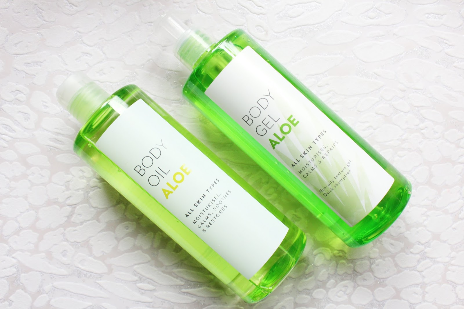 Tesco Aloe Skincare Range