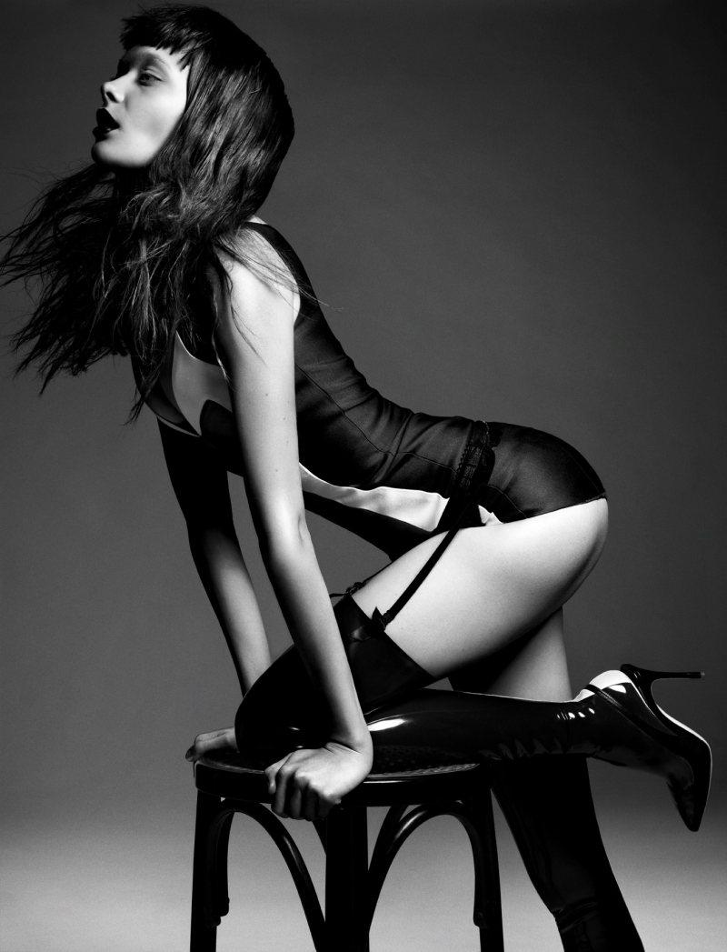 Lingerie Editorial: Tanya Katysheva for Style Singapore