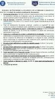 Grade didactice - acte inscriere