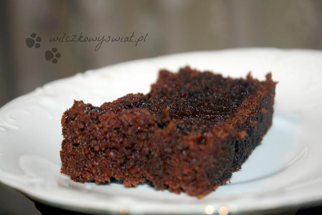 Czekoladowe brownie z burakami