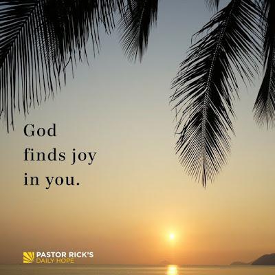 God Finds Joy in You by Rick Warren