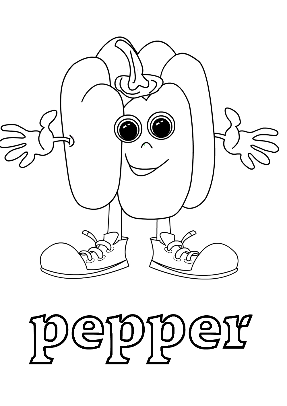 vegetales coloring pages - photo#28