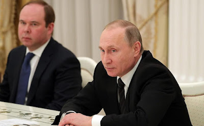 Vladimir Putin, Anton Vaino.